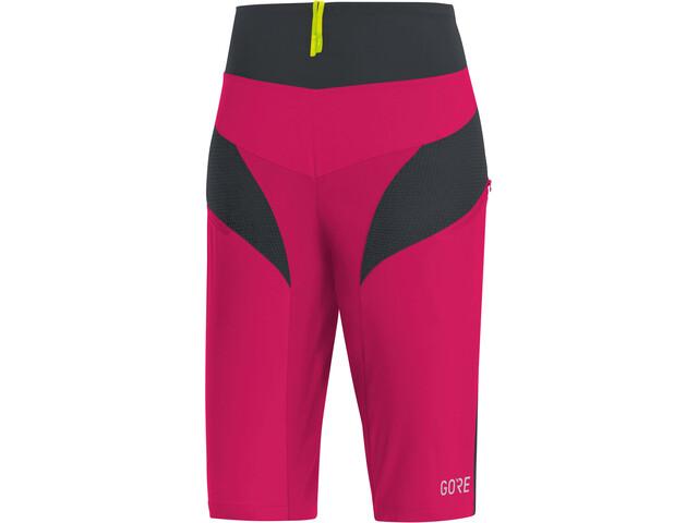 GORE WEAR C5 Cykelbukser Damer pink/sort | Trousers